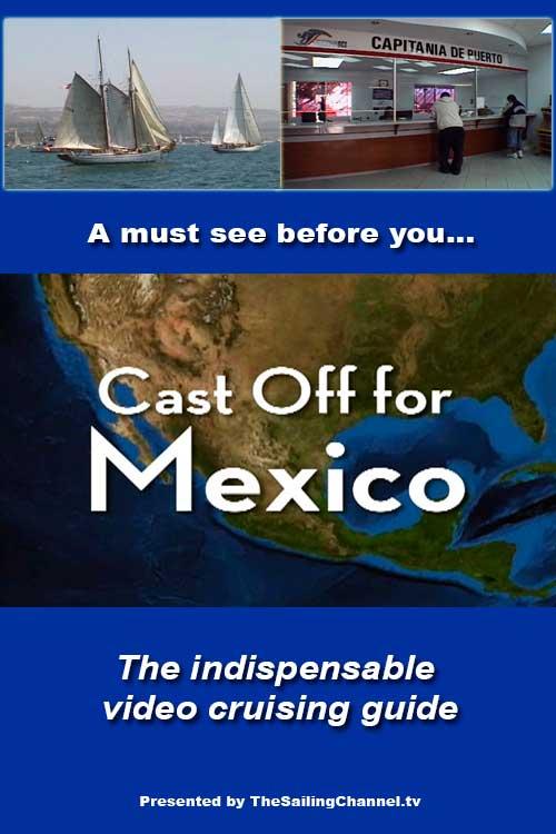 Sailing to Ensenada, Mexico