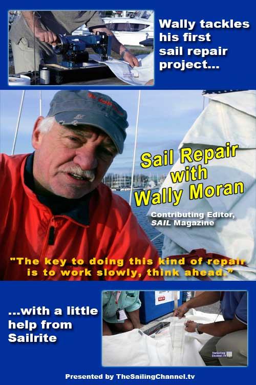 Sail Repair with Wally Moran