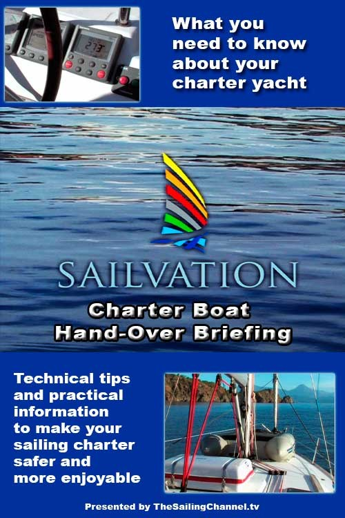 Sailvation Sailboat Charter Briefing