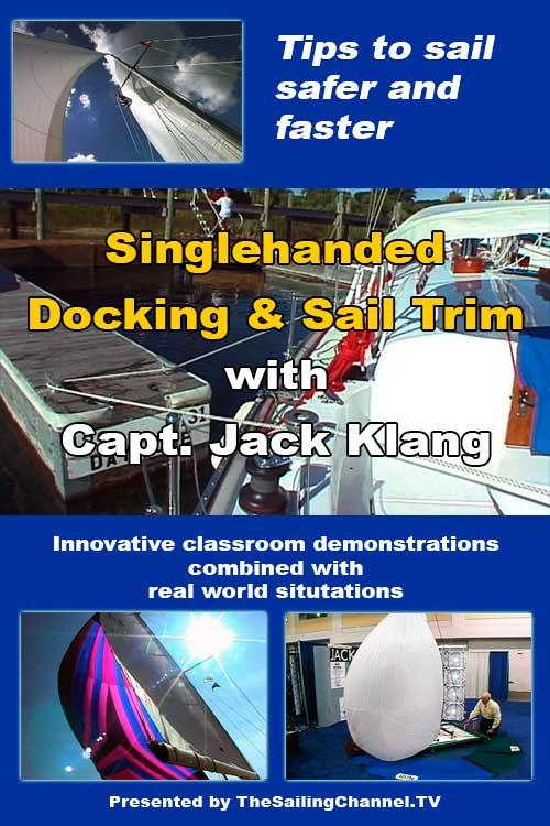 Singlehanded Docking Sail Trim