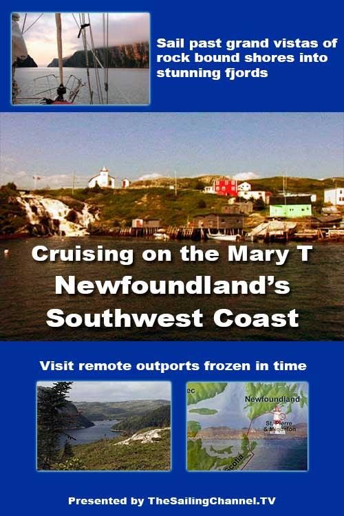 Sail Newfoundland SouthWest Coast