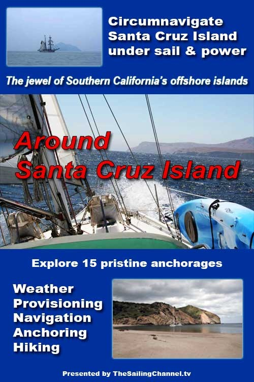 Around Santa Cruz Island Video