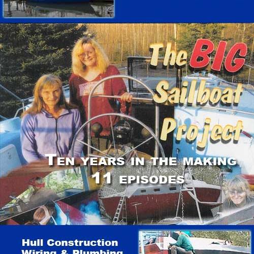 The BIG Sailboat Project Boat Building