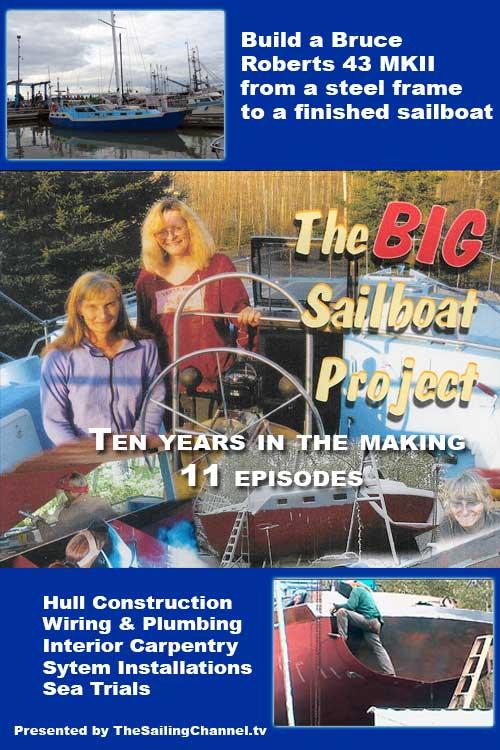 The BIG Sailboat Project Boat Building