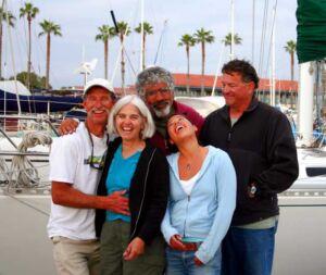 Santa Cruze Island - The Crew