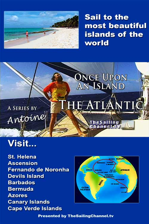 Sail Atlantic Islands with Antoine