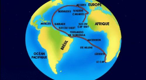 Atlantic Islands Map