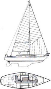 Mary T Morgan 38.4 Sloop