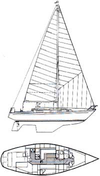 Mary T Morgan 38.4 Sloop