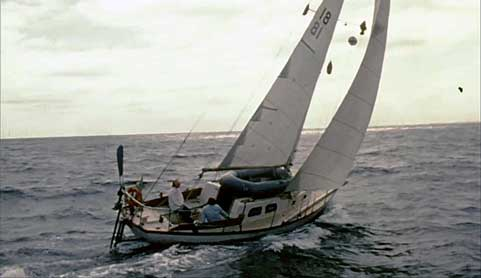 Classic sailing films - 600 Days to Cocos At Sea 3