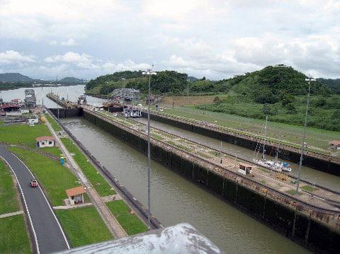 Panama Canal - Lock