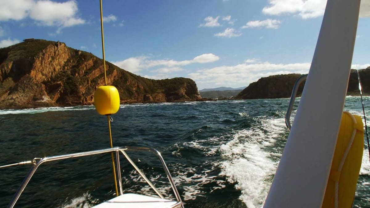 Heading to sea