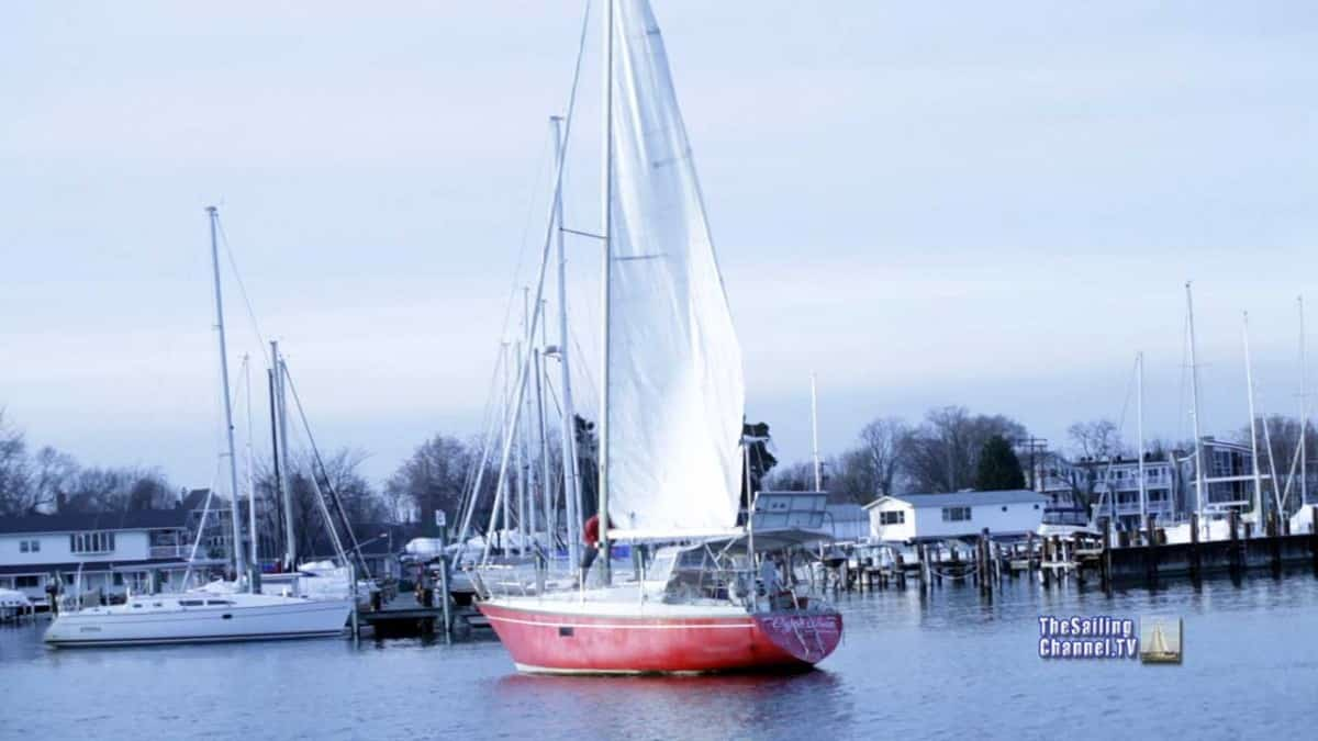 Sail Repair Video with Wally Moran -