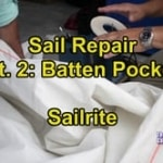 Sail Repair Pt. 2 - Batten Pocket