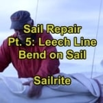 Sail Repair Pt. 5 - Bend on Sail