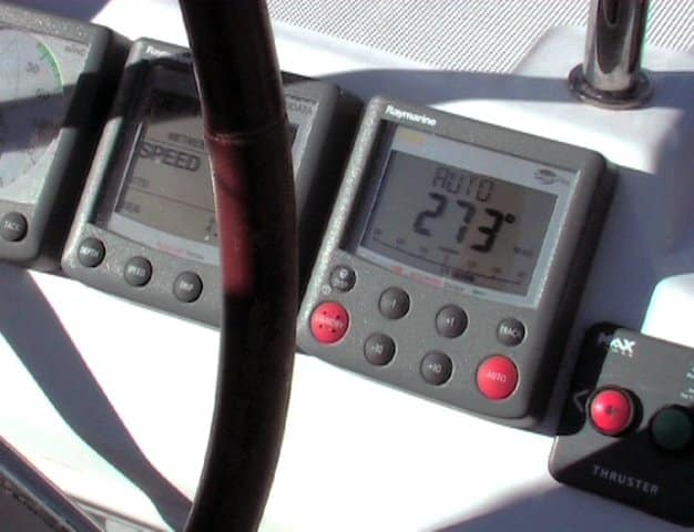 Sailvation Sailboat Charter Briefing Instruments