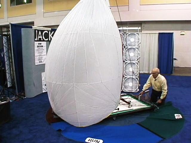 Singlehanded Docking Sail Trim - Spinnaker class