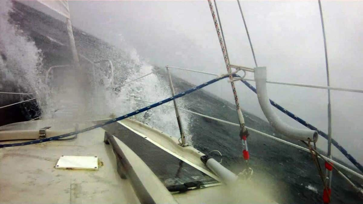 Circumnavigation Videos - Rough Weather