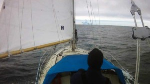 Red Dot on the Ocean: Arctic Sailing