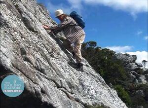 Tasmania1 - Climbing Mt. Sorell