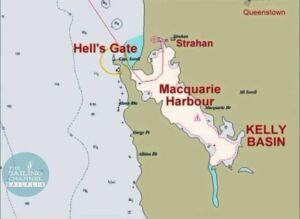 Tasmania - Hell's Gate Map