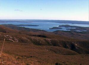 Tasmania - Mt. Sorell Sea View