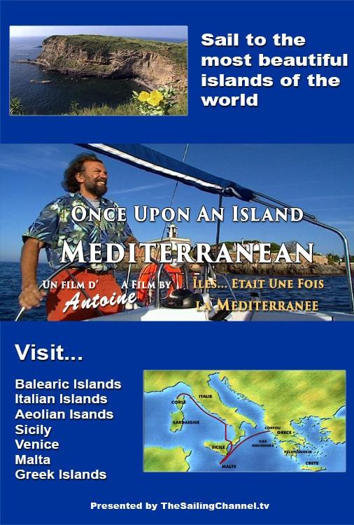 Sail Mediterranean Islands with Antoine
