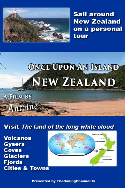 Sail Around New Zealand with Antoine