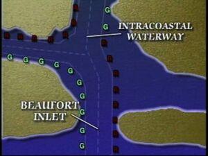 Beaufort North Carolina channel