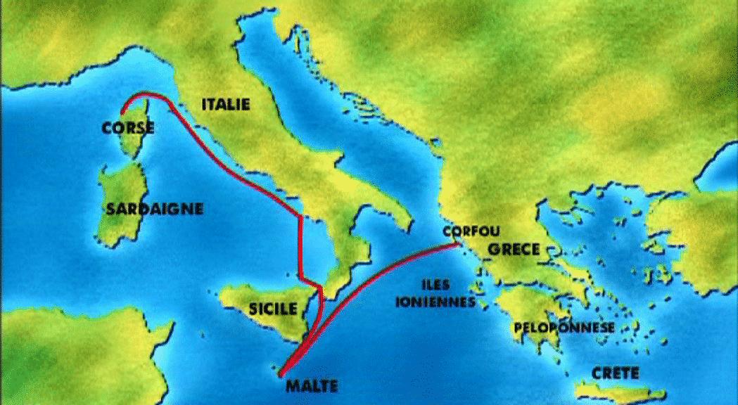 Sail Mediterranean Islands