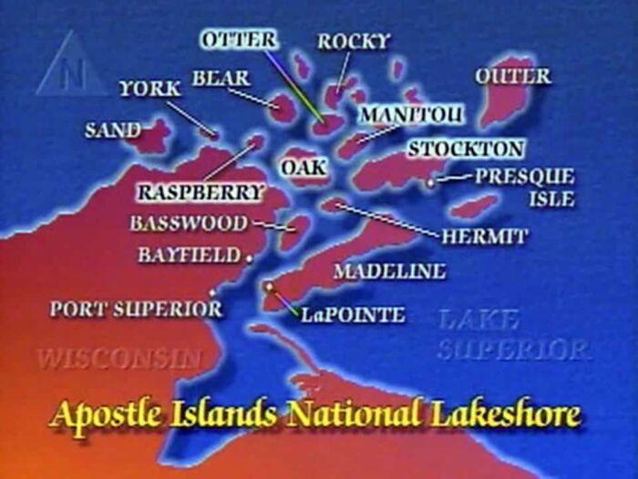 Apostle Islands Lake Cruising Video