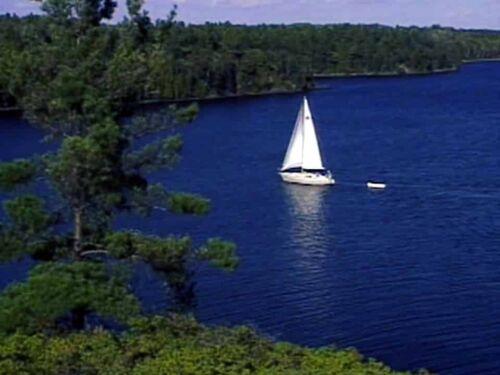 Georgian Bay Canada Lakes Cruising Video