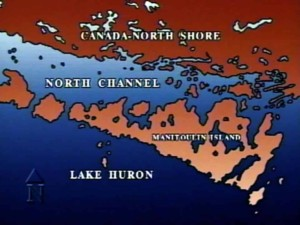 Georgian Bay North Channel Map