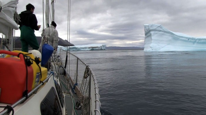Northwest Passage: Greenland to the Bearing Sea Video - Iceberg ahead