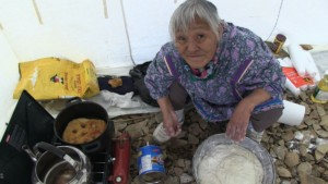 Northwest Passage: Greenland to the Bearing Sea Video - Inuit Woman