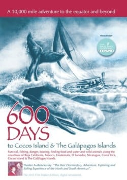 600 Days to Cocos Island and the Galapagos Islands DVD