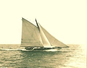 A Brief Glimpse in Time: Yacht Athena, 1900